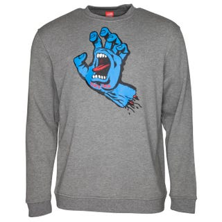 Santa Cruz Screaming Hand Crew Sweatshirt