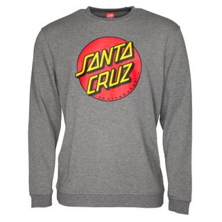 Santa Cruz Sweatshirts - Classic Dot Heather
