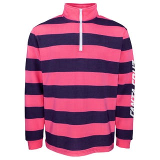 Santa Cruz Run Up Quarter Zip Crew Orchid Pink