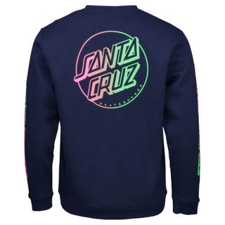 Santa Cruz Clothing EU - Opus Stripe Fade Crew Sweatshirt