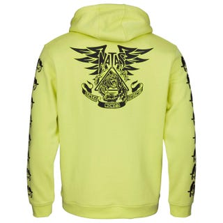 Santa Cruz Natas Panther Hooded Sweatshirt Limelight