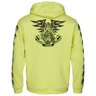 Santa Cruz Natas Panther Hooded Sweatshirt Limelight