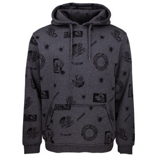 Santa Cruz Clothing UK & EU - This Fast Hoodie Charcoal Heather