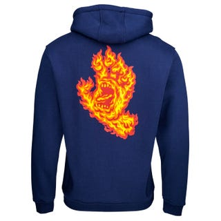 Flame Hand Hood