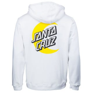 Santa Cruz Moon Dot Hood White