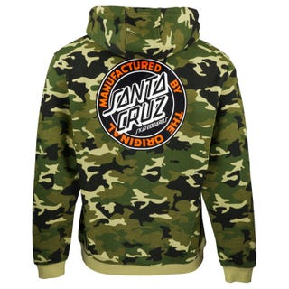 Santa Cruz MFG Dot Hood Woodland Camo