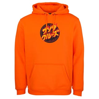 Santa Cruz Flaming Japanese Dot Hood Fluro Orange
