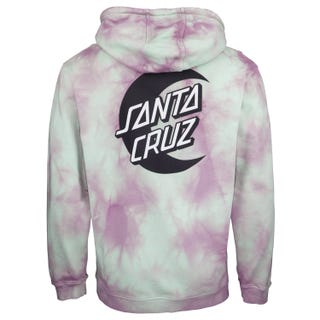 Santa Cruz Moon Dot Mono Hoodie Trippy Cloud