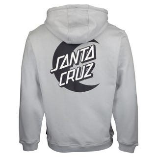 Santa Cruz Moon Dot Mono Hoodie Quarry Grey