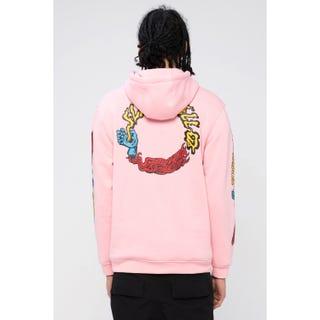 Santa Cruz Vomit 97 Hoodie Pink