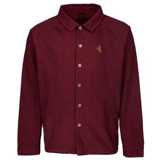 Santa Cruz Clothing - Screaming Mono Hand Jacket Burgundy