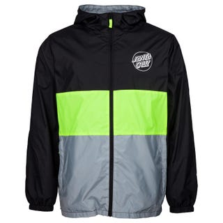 Santa Cruz Men's Sky Light Jacket Black