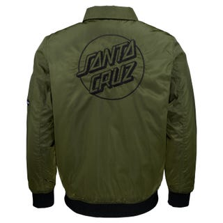 Santa Cruz Clothing UK & Europe - Squad Jacket Military Green