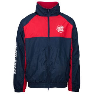 Santa Cruz Off Set Jacket Dark Navy / Wine