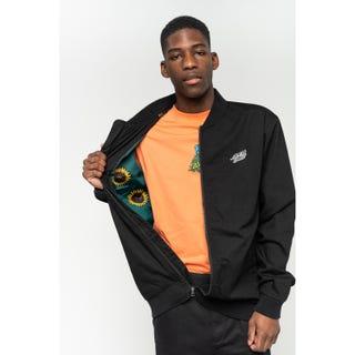 Santa Cruz Sunflower Jacket Black