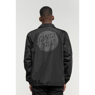 Santa Cruz Contra Dot Mono Jacket Black