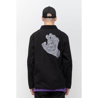 Santa Cruz Plant Jacket Washed Black
