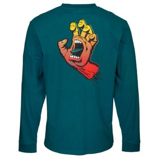 Santa Cruz Fade Hand Long Sleeve T-Shirt