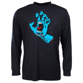 Santa Cruz Screaming Hand T-Shirt Long Sleeve