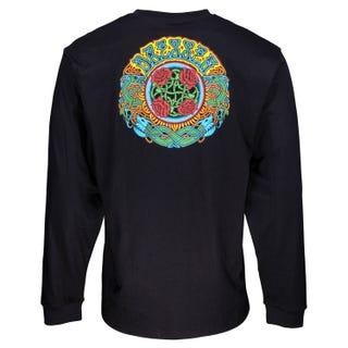 Santa Cruz Clothing UK & EU - Dressen Roses L/S T-Shirt Black