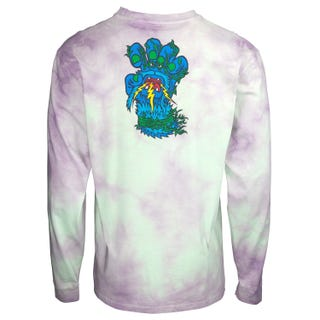 Santa Cruz Big Foot Screaming Hand L/S T-Shirt Trippy Cloud