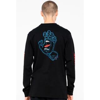 Santa Cruz Void Hand L/S T-Shirt Black