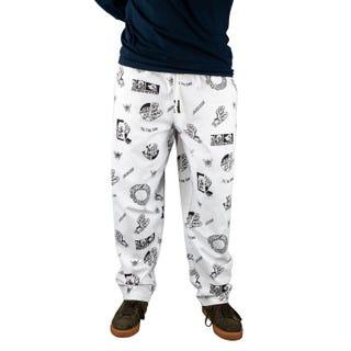 Santa Cruz Clothing UK & EU - This Fast Pants White Twill