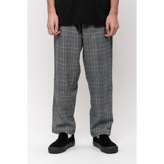Santa Cruz Local Pants Black Check