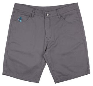 Santa Cruz Screaming Hand Walkshort Shorts Charcoal
