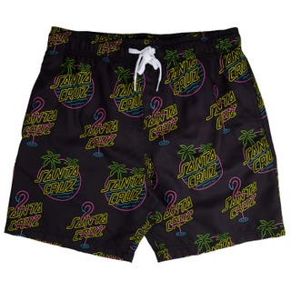 Santa Cruz Glow Swimshort Black