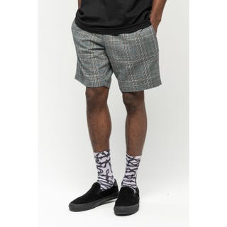 Santa Cruz Local Shorts Black Check