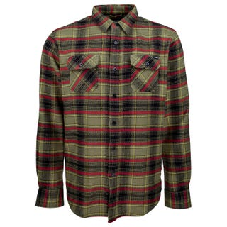 Santa Cruz Pacifica Shirt Military Green / Brick