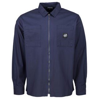 Santa Cruz El Jefe L/S Shirt Dark Navy