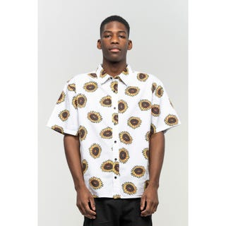 Santa Cruz Sunflower Shirt White
