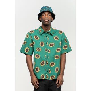 Santa Cruz Sunflower Shirt Evergreen