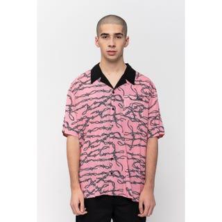 Santa Cruz Barbed Wire Shirt Pink