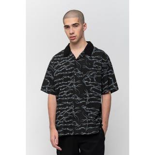 Santa Cruz Barbed Wire Shirt Black