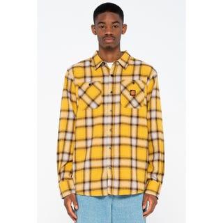 Santa Cruz Apex Shirt Mustard Check