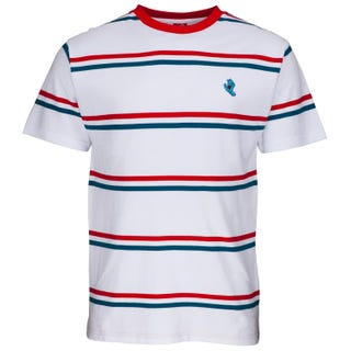 Santa Cruz Screaming Mini Hand Striped T Shirt
