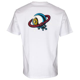 Santa Cruz Mobius T-Shirt Ice White