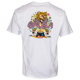 Santa Cruz Clothing UK - Salba Witch Doctor Short Sleeve T White