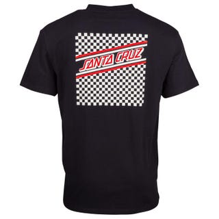 Check Strip Hue T-Shirt