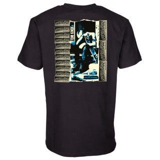 Santa Cruz T Shirt - Knox Punk Remix T-Shirt Black