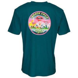 Santa Cruz T Shirt - Invade T-Shirt Ink Blue