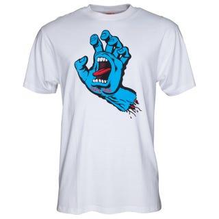 Santa Cruz Screaming Hand T-Shirt White