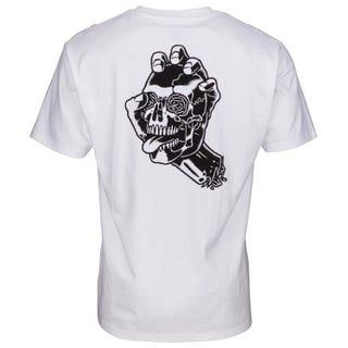 Santa Cruz Screaming Skull T-Shirt White