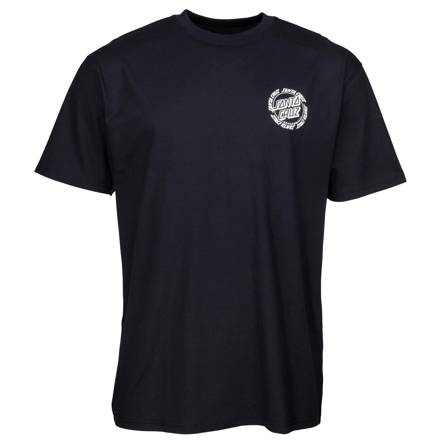 Santa Cruz Mens Ringed Dot Short-Sleeve Shirt