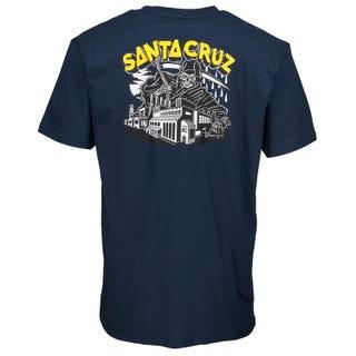 Santa Cruz UK Men's Fate Factory Tee Indigo