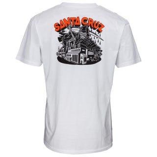Santa Cruz Men's Fate Factory Tee White