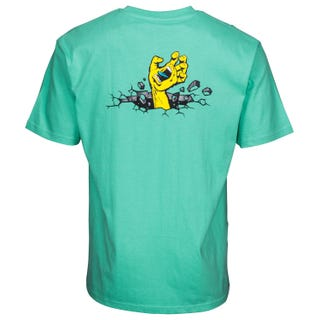 Santa Cruz UK Hand Wall T-Shirt Spearmint